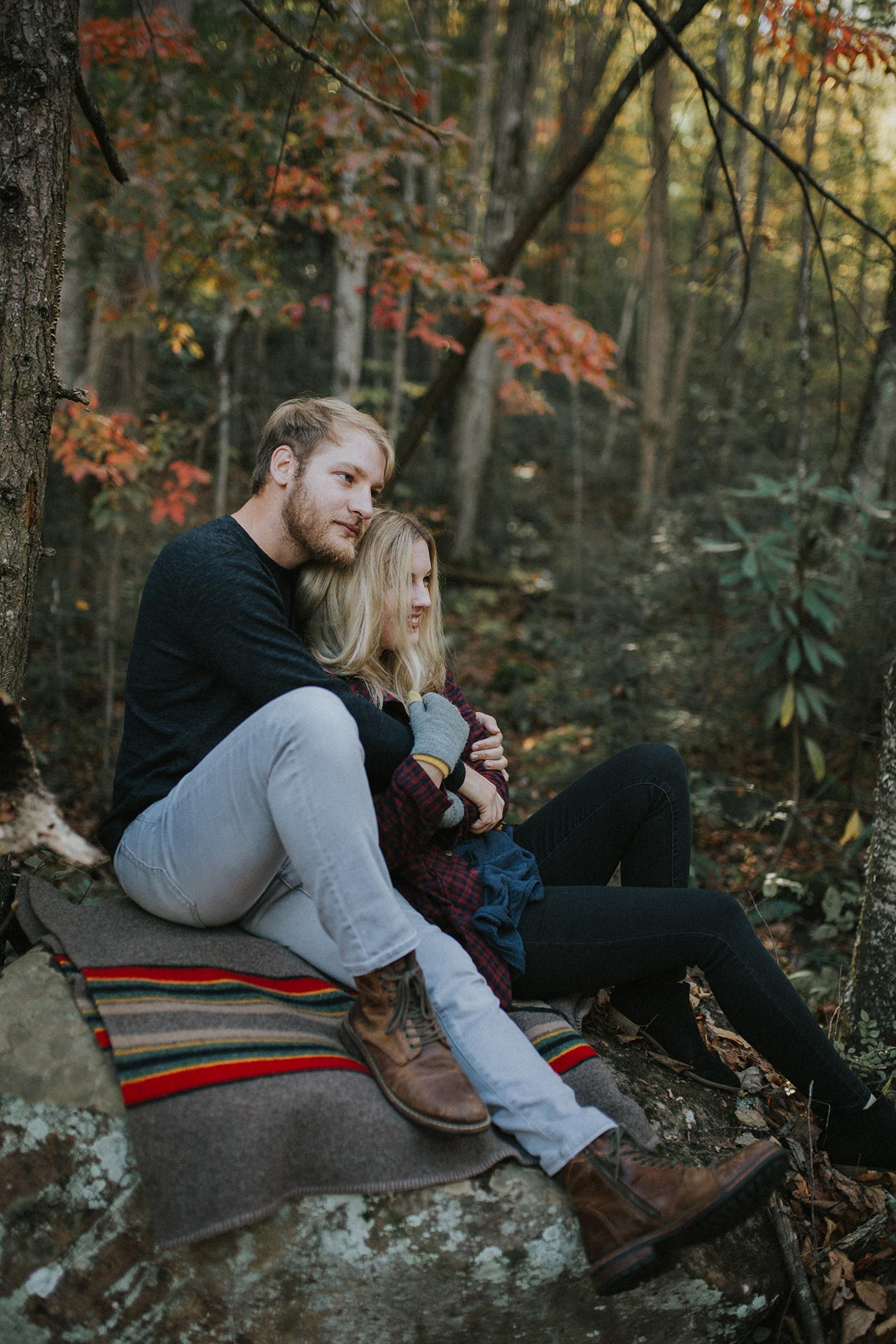 Pigeon Forge Engagement Photography Gatlinburg Photographers Great Smoky Mountains National Park Elkmont