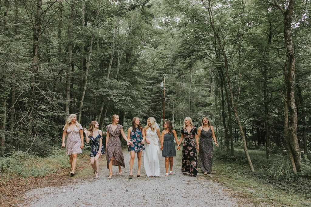 Bachelorette Party In The Mountains Gatlinburg Photographer Pigeon Forge Photography