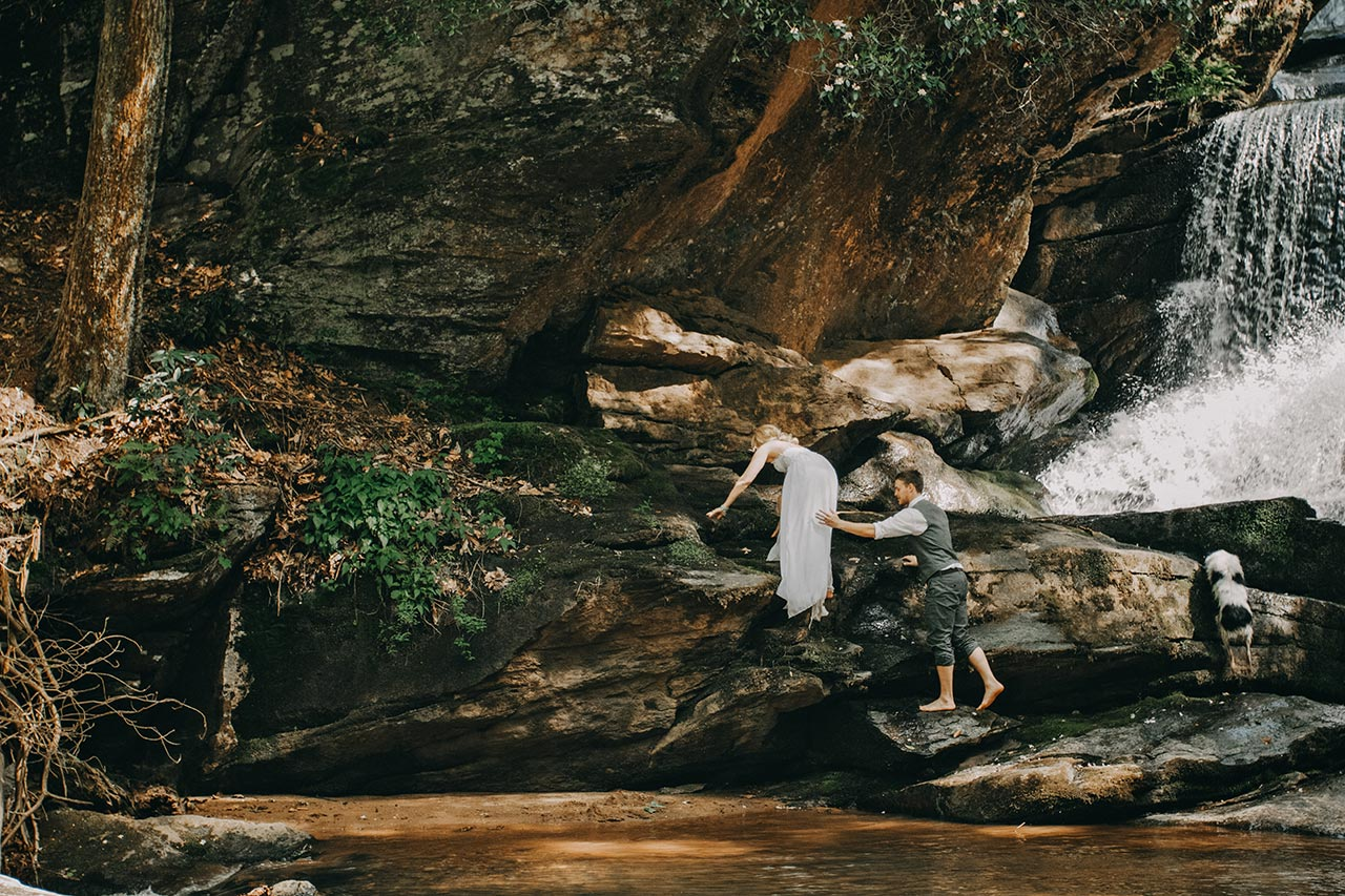 Asheville Elopement Wedding Photographer Gatlinburg Photography Pigeon Forge North Carolina Tennessee