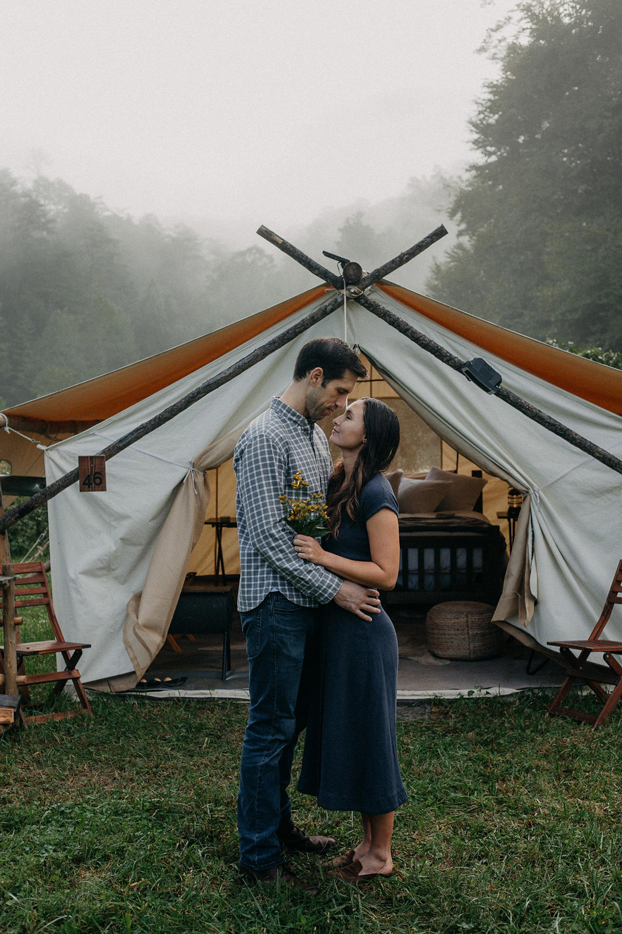 Pigeon Forge Anniversary Photography Under Canvas Great Smoky Mountains Gatlinburg Photographer