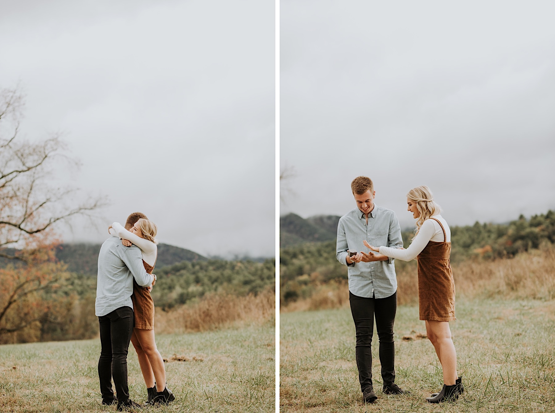 Proposing In Cades Cove Smoky Mountain Couple Photography Gatlinburg Photographer Pigeon Forge Townsend TN