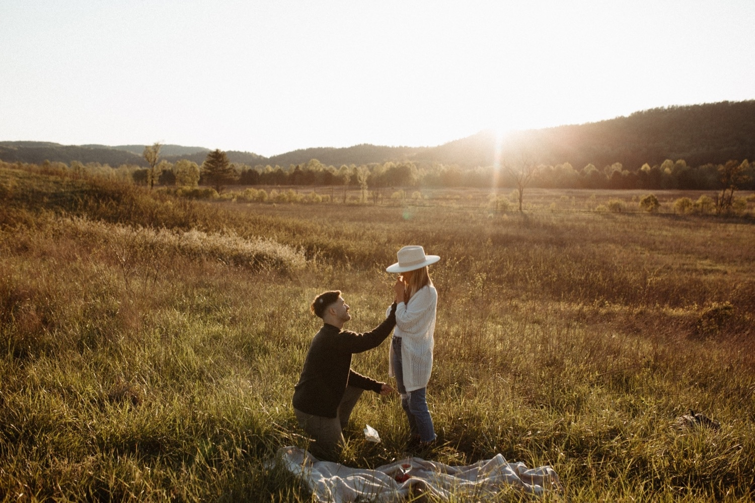 Cades Cove Proposal Photography Great Smoky Mountains National Park Photographer Gatlinburg Pigeon Forge